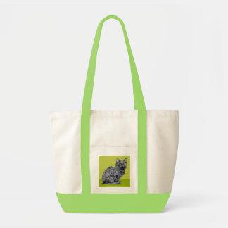 Black Cat green Bag