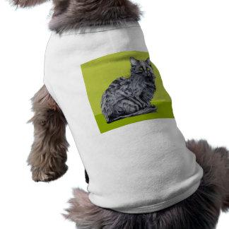 Black Cat green Dog T-shirt