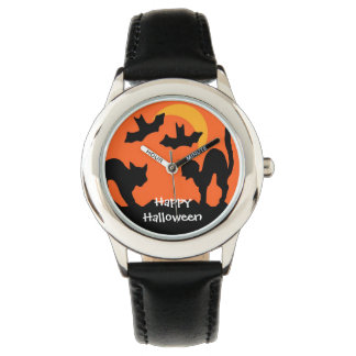 Black Cat Halloween Cat Fight Watch