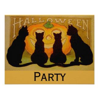 Black Cat Halloween Announcement