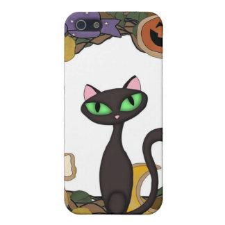 Black Cat Halloween iPhone SE/5/5s Case