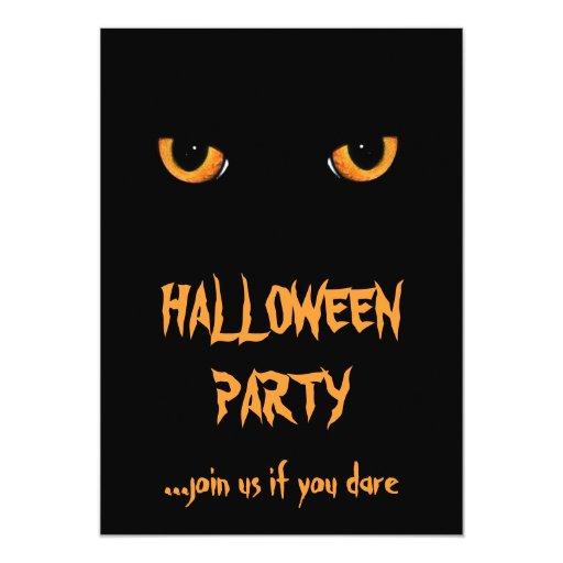 Black Cat Invitations