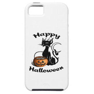 Black Cat Happy Halloween iPhone SE/5/5s Case