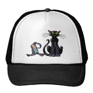 BLACK CAT & HAT by SHARON SHARPE