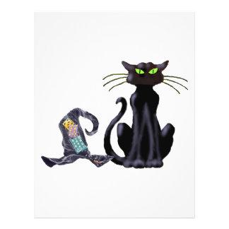 BLACK CAT & HAT by SHARON SHARPE Full Color Flyer