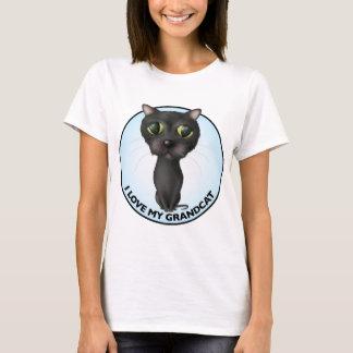 Black Cat: I Love My Grandcat T-Shirt