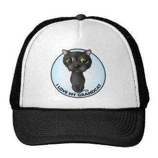 Black Cat: I Love My Grandcat Trucker Hat