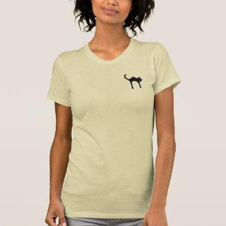black cat image T-Shirt