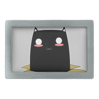 Black Cat in a Box Belt Buckle