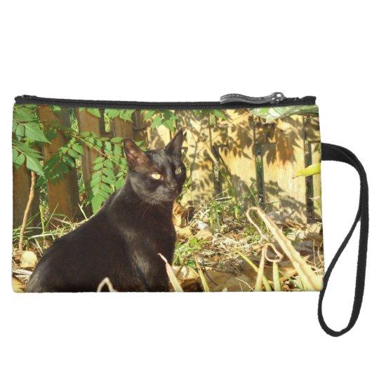 Black Cat in Morning Sun Bag