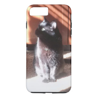 black cat in thought iPhone 7 plus case