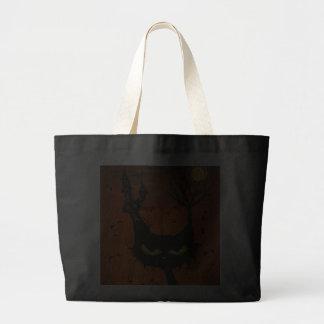 Black Cat Inn large tote Bag