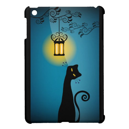 Black Cat iPad Mini Case