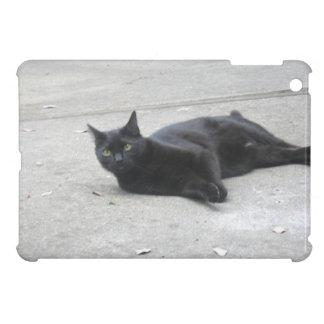Black cat iPad Mini Case