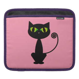 Black Cat Sleeves For iPads