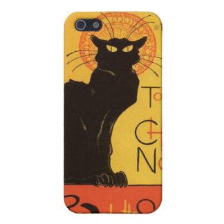Black cat  Iphone4 Speck Case