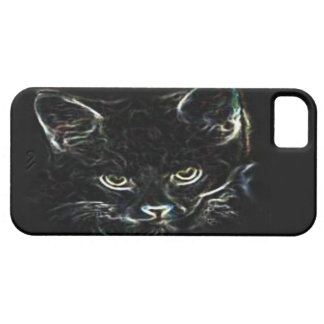 Black Cat iPhone5 barely there case