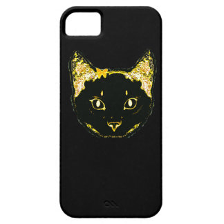 black cat iPhone 5/5S, Barely There iPhone 5 Covers