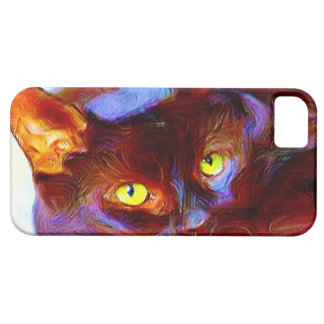 Black cat iPhone 5 Case-Mate phone case