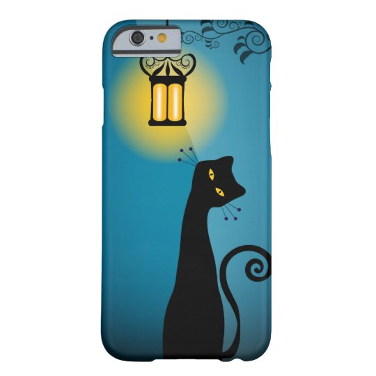 Black Cat Samsung Phone Case