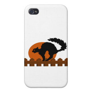 Black Cat Covers For iPhone 4