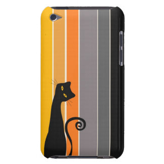 Black Cat iPod Case Case-Mate iPod Touch Case