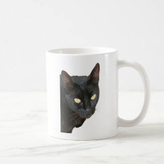 Black Cat Isolated Coffee Mug