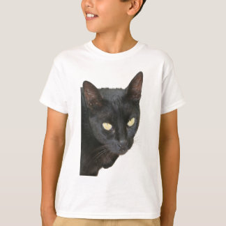Black Cat Isolated T-Shirt