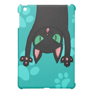 Black Cat jumping out iPad Mini Cases