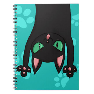 Black Cat jumping out Notebooks