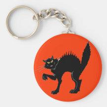 Black Cat Key Chain