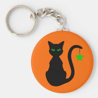Black Cat Keychain