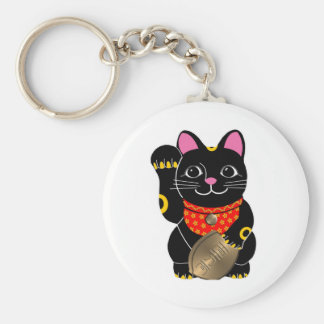 Black Cat Keychain