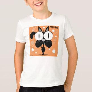 Black Cat Kids' Basic American Apparel T-Shirt