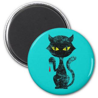 Black Cat Kills Magnet