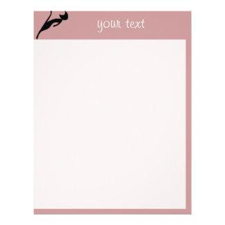 black cat letterhead