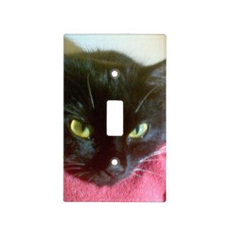 Black Cat Light Switch Cover