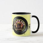 Black Cat LP Art Deco Mug