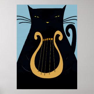 Black Cat Lyre NOLa 2015 Posters
