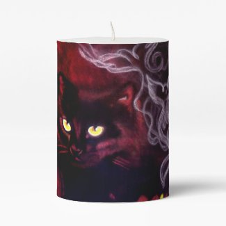Black Cat Magic Candle