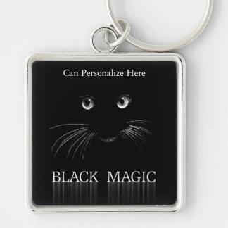 Black Cat Magic Keychain