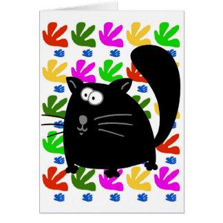 Black Cat Matisse Cards