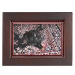 Black Cat Memory Box