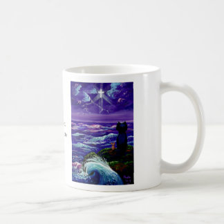 Black Cat Mouse Christian Art Creationarts Coffee Mug