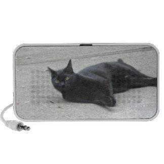 Black  Cat Mp3 Speakers