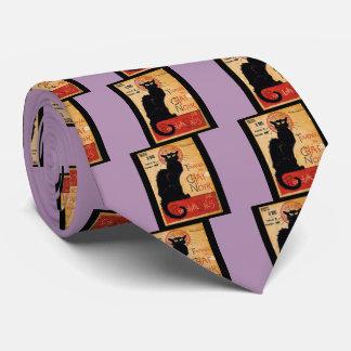 Black Cat Neck Tie