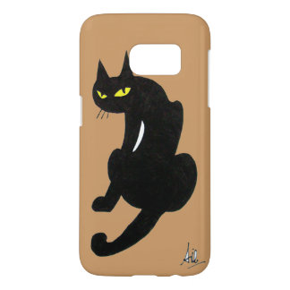BLACK CAT NINJA SAMSUNG GALAXY S7 CASE