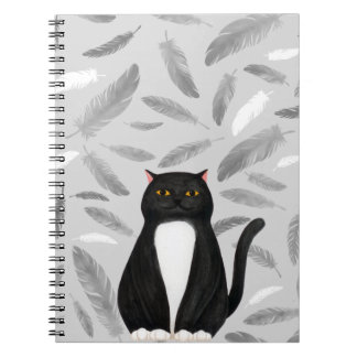Black cat Notebook