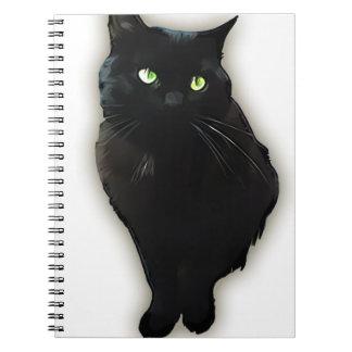 Black cat notebooks