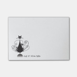 Black Cat O' Nine Tails - Post-it Notes